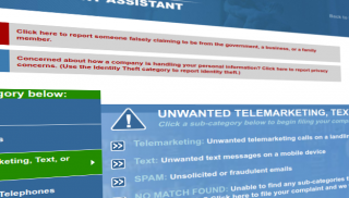 FTC Telemarketing Complaint Website